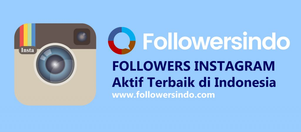 Followersindo Jasa Followers Instagram Aktif Banner