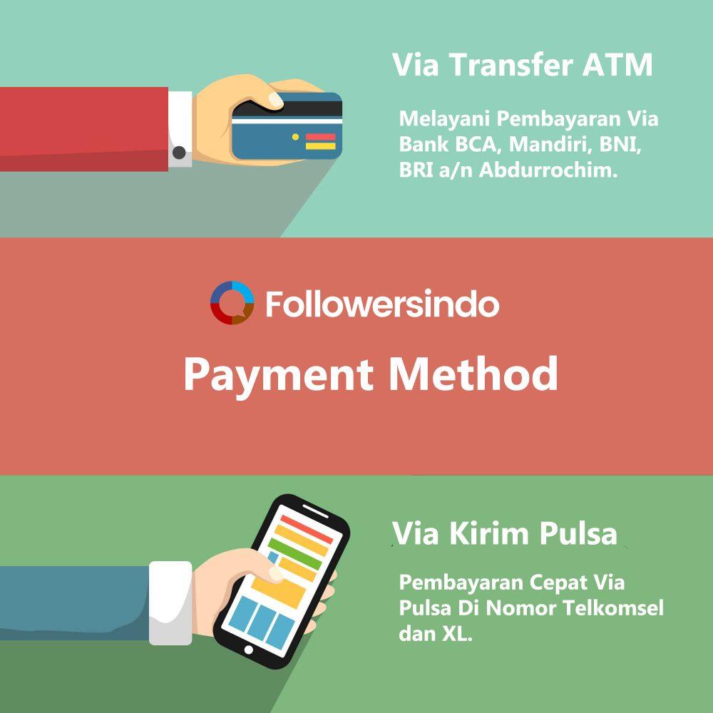 Pembayaran Via Pulsa dan Transfer