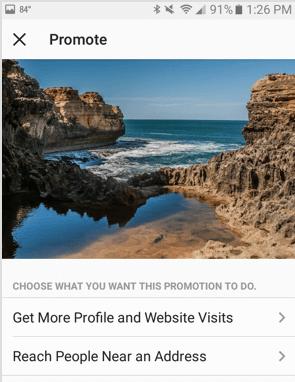 Objective di iklan Instagram