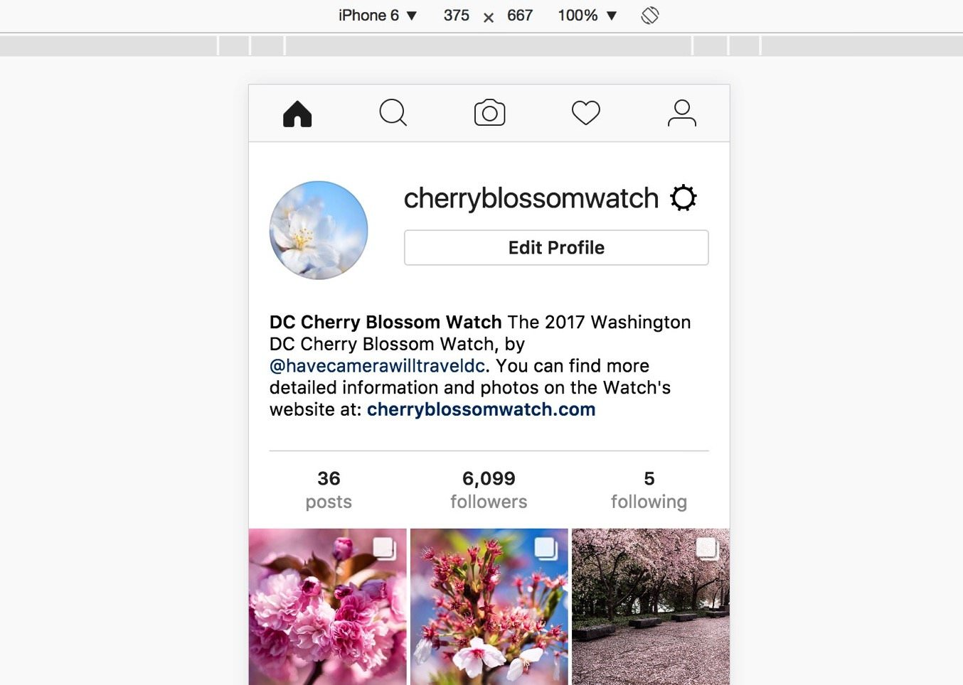 upload foto di Instagram lewat PC