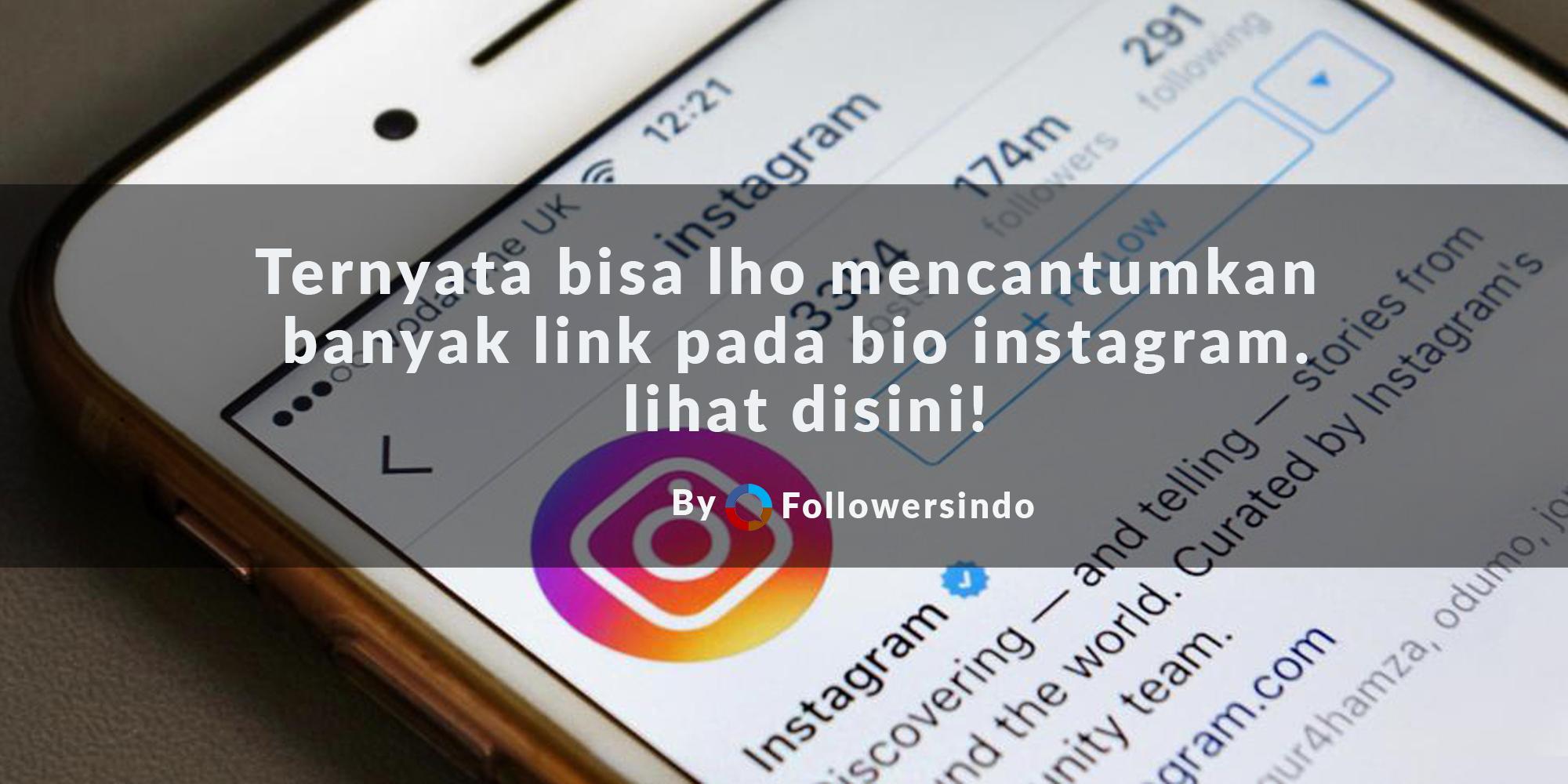 Cara Membuat Link di Bio Profil Instagram pakai Linkt.ree