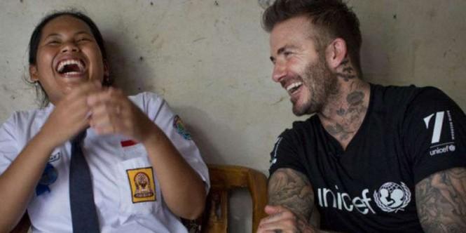 Benarkah Sripun, Gadis SMP, Takhlukkan Seorang David Beckham?