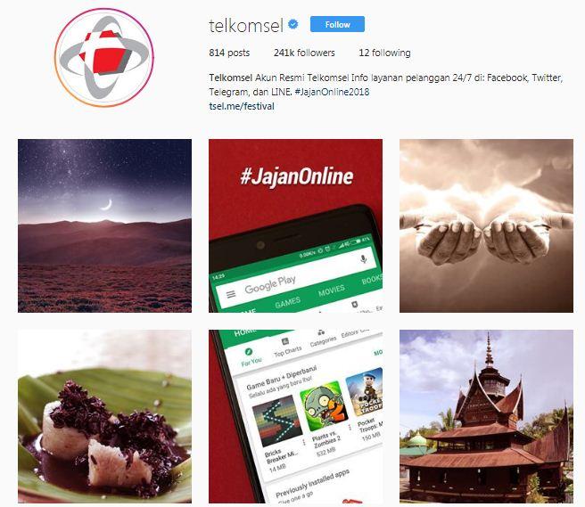 Jenis Bisnis di Instagram