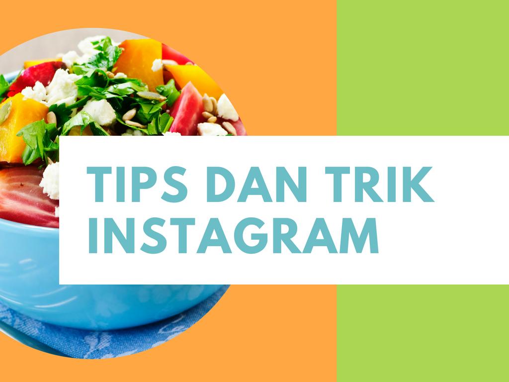 15 tips Instagram keren