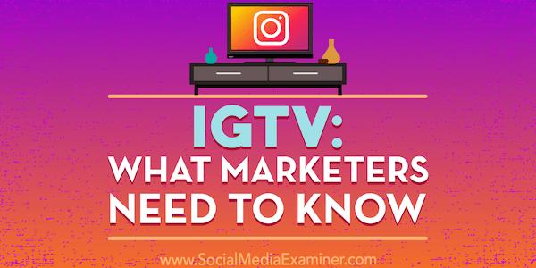 Udah tau belum rahasia terbaru strategi IG TV 2018 ini??