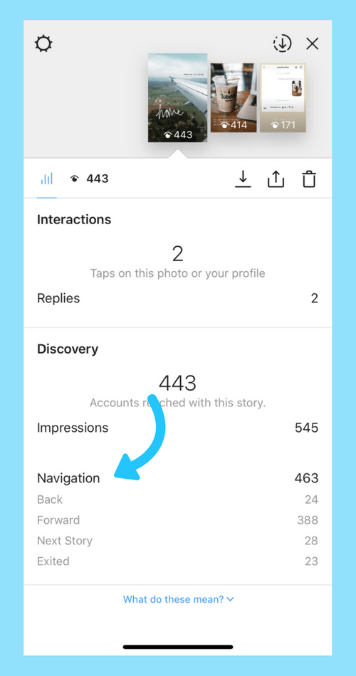 Inilah cara mudah menggunakan analisa Instagram story