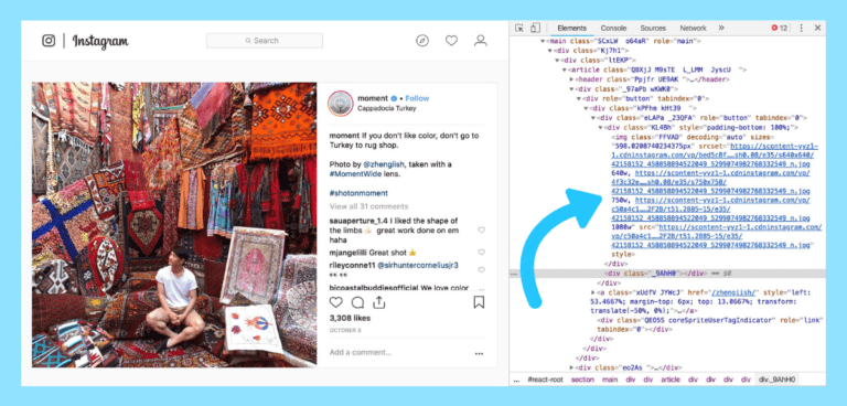 ukuran dan dimensi foto Instagram 2018
