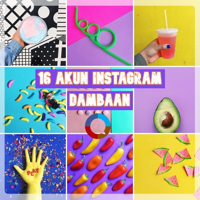 16 Akun Instagram Dambaan dan Inspirasi