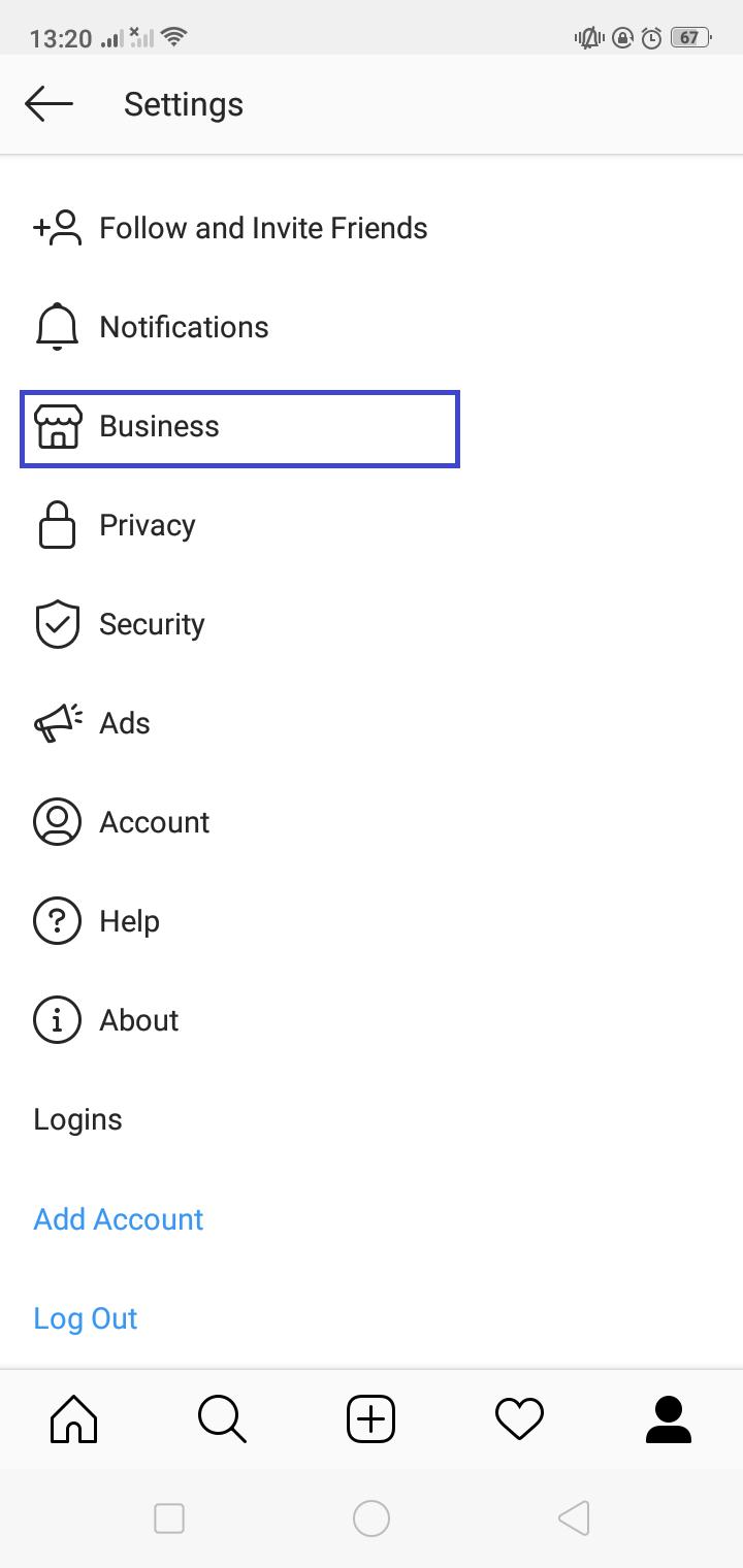 cara akses fitur quick replies untuk direct message