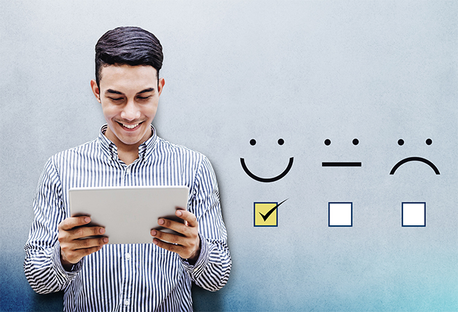 customer bahagia di Instagram
