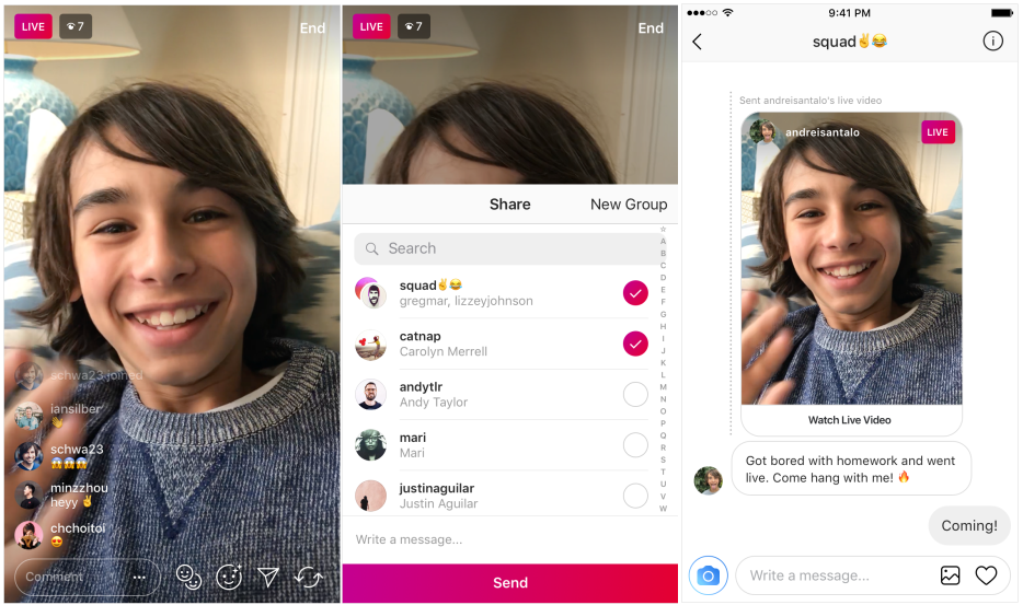 cara menambah viewers Instagram live
