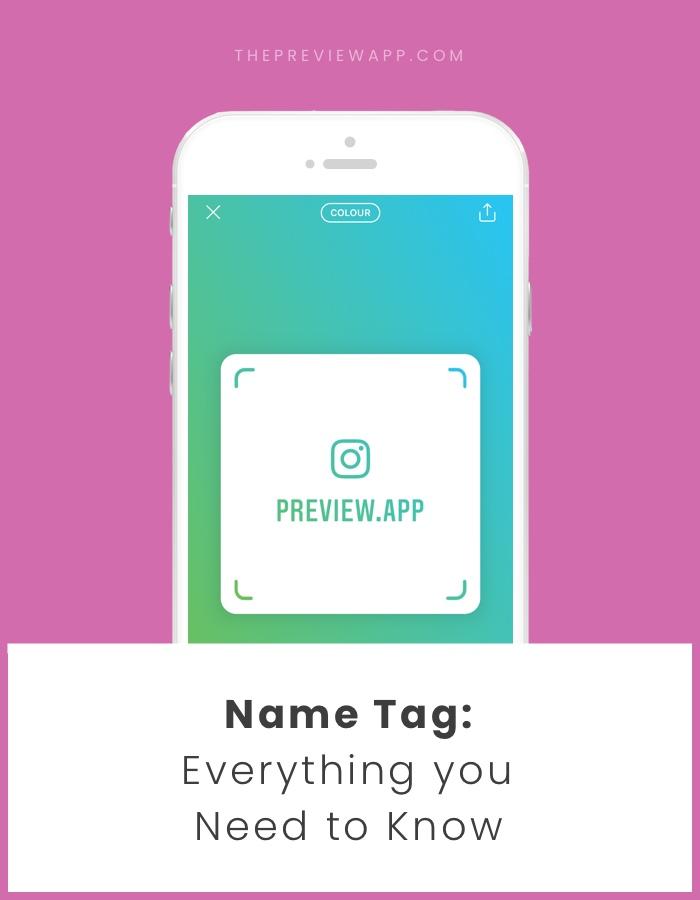 Buat Nametag Instagram kamu untuk akun Instagram kamu!