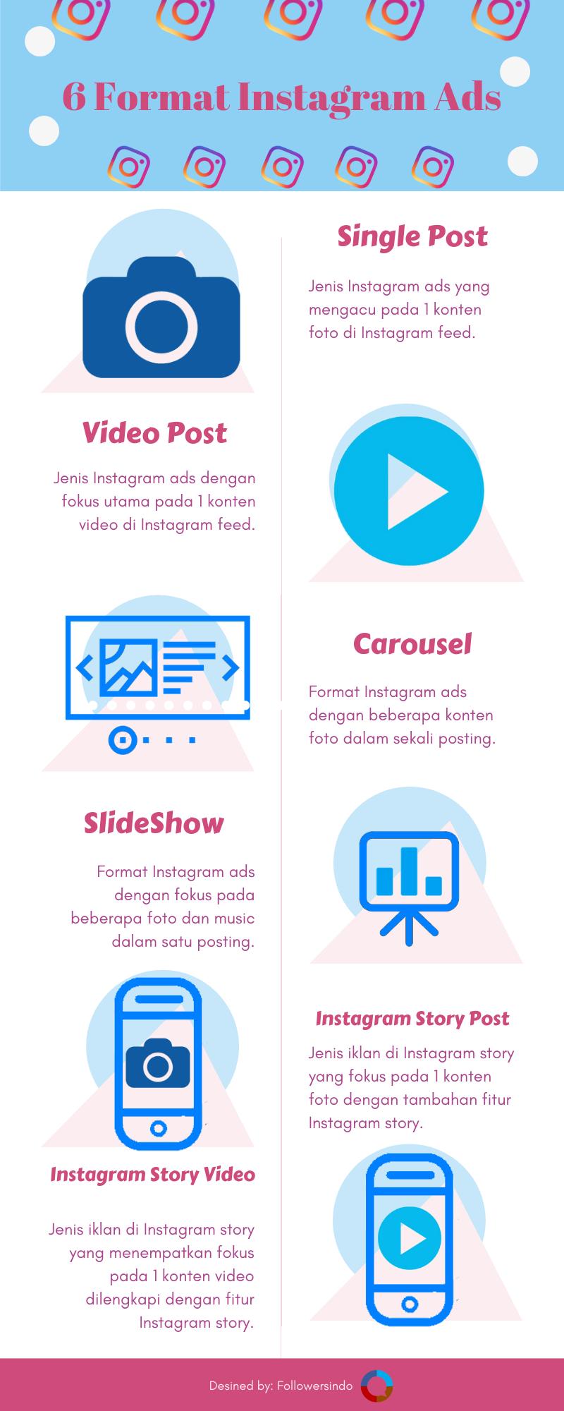 6 format Instagram Ads