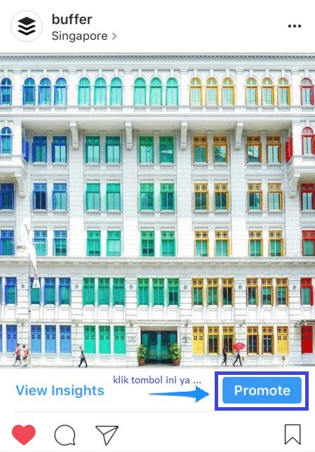 cara membuat iklan langsung dari Instagram