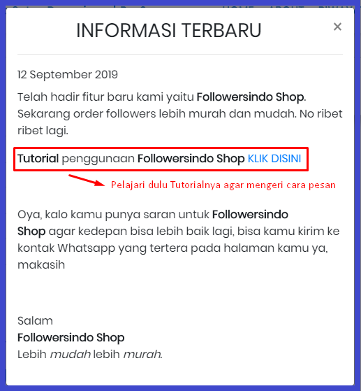 panduan user followersindo shop
