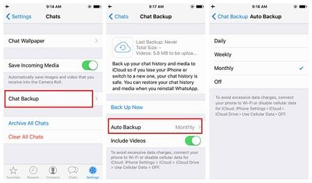 Cara Back Up WhatsApp Chat dan Data ~ iOS