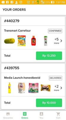 Aplikasi Bisnis Sayur Online era Virus Corona 2020